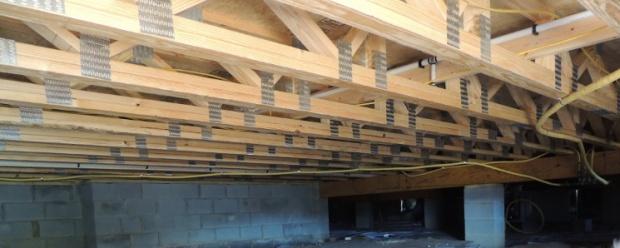 Open Web Engineered Floor Joists Insulation Dscn2232 Jpg