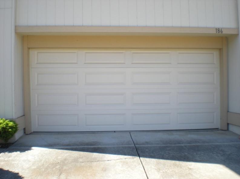 How to open garage door when power
