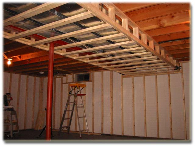 Best Way To Frame Around Ductwork Remodeling Diy