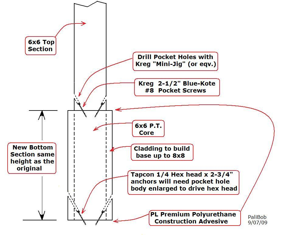 HOw to support 8X8 porch posts sp the bottoms can be replaced-dwg-post.jpg
