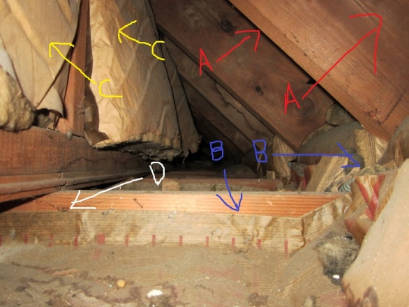 Correct way to insulate this situation in bathroom-eaves.jpg