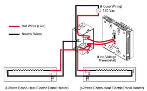 Electric Baseboard Heaters Always On.. - Electrical - DIY ...