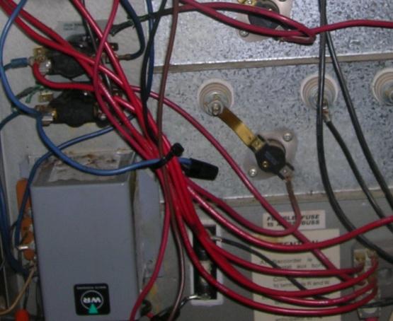 Electric Furnace Burned Element Wiring - Cause? - HVAC - DIY