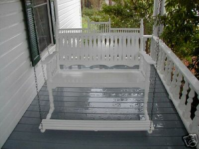 Any Thoughts On Hanging A Foot Pedal On Porch Swing