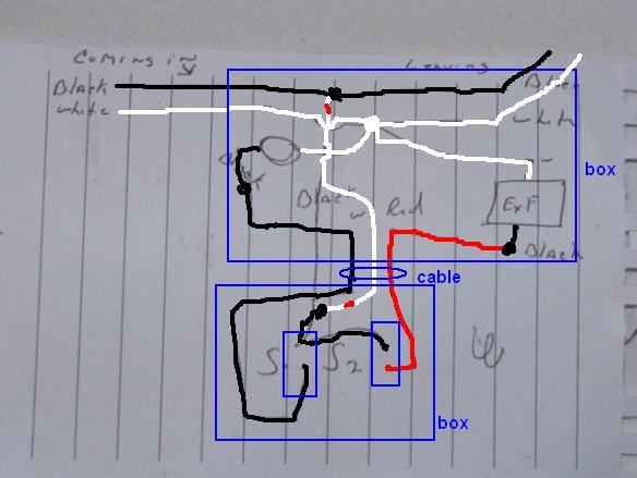 Wire A Light Switch Wiring Diagram As Well Black White Green Red Wire
