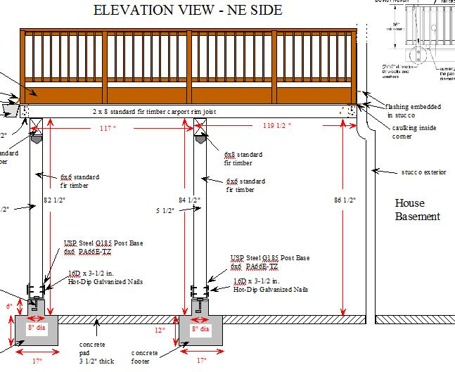 how to build a carport with deck on top
