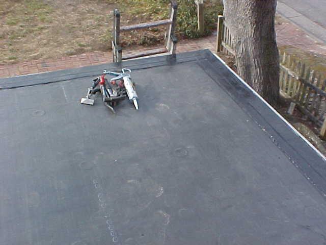 Flat Roof Repair Costs Epdm Job 2  ...