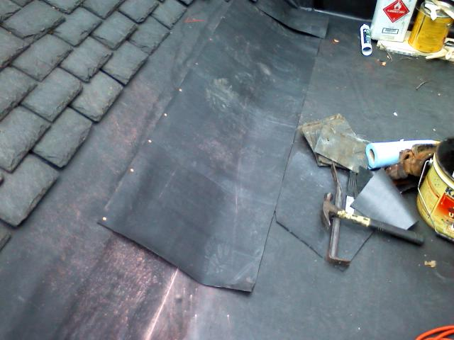 Proper Transition Between Shed Roof And Shingled Roof