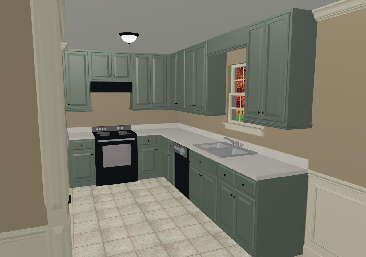 What Color To Paint Kitchen Cabinets Interior Decorating DIY
