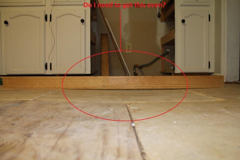 Tiling Kitchen. Floor Uneven. Going Crazy! - Tiling, ceramics ...
