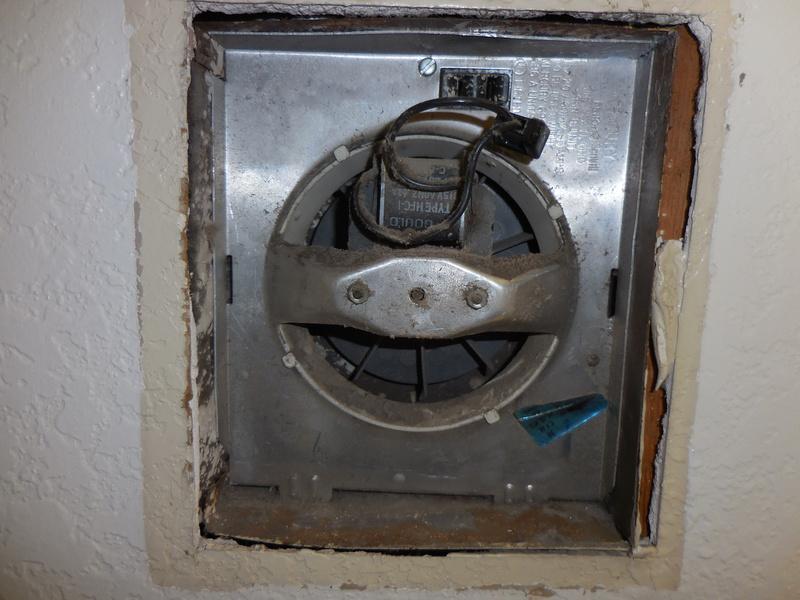 Replace Wall Mount Bathroom Exhaust Fan - General DIY ...
