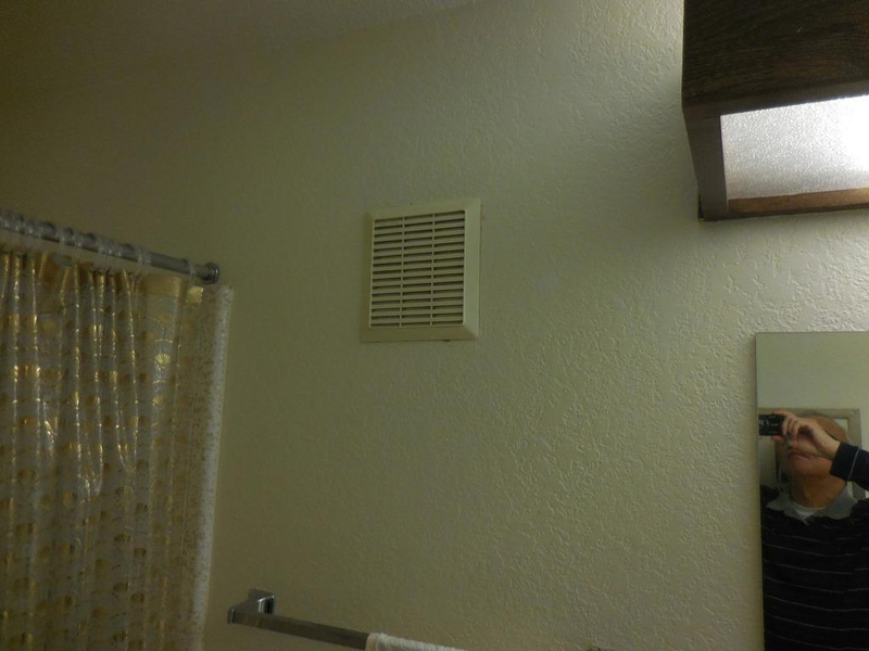 wall mounted exhaust fan installation replace mount bathroom retro kitchen fans with shutters
