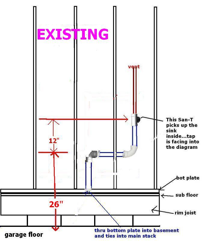 Plumbing For Utility Sink In Garage - Plumbing - DIY Home Improvement ...