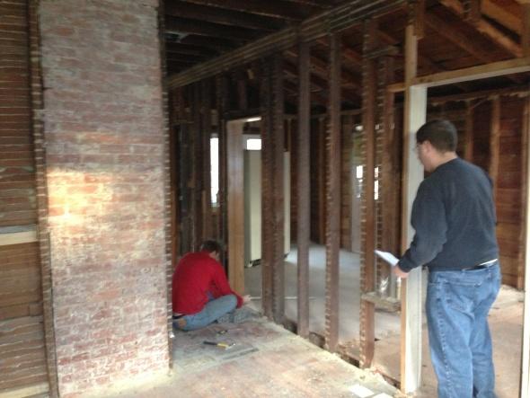 NJ Colonial - Family Remodel-exposed-brick-chimney.jpg