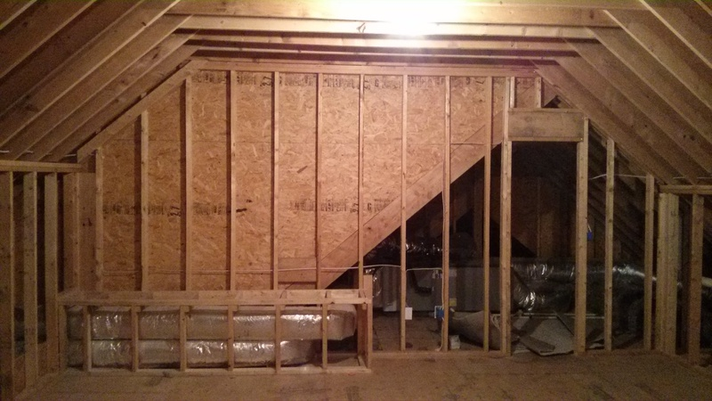 Finishing Attic Space Best Insulation Plan Insulation Diy Chatroom Home Improvement Forum