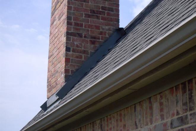 Roof Leak Near Chimney Roofing Siding Diy Home