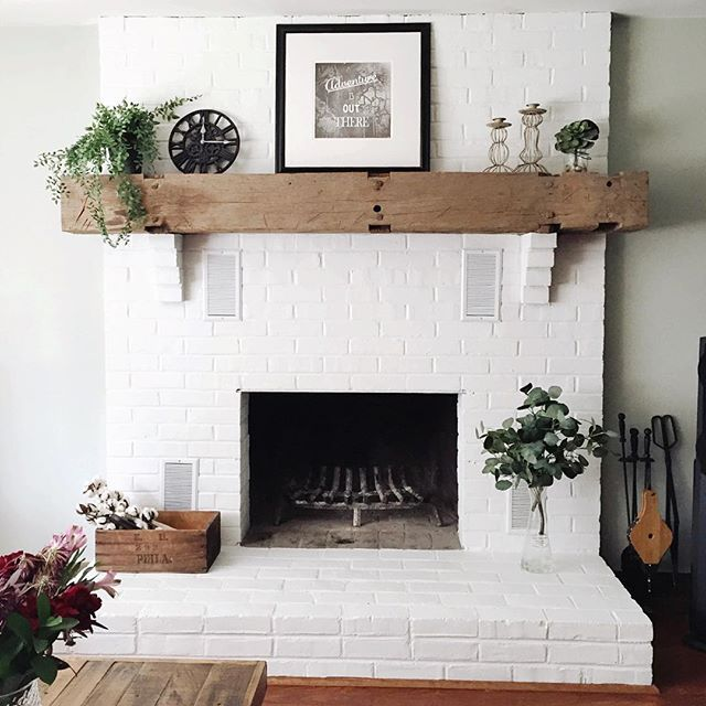 Refacing A Brick Fireplace With Stone Mycoffeepot Org