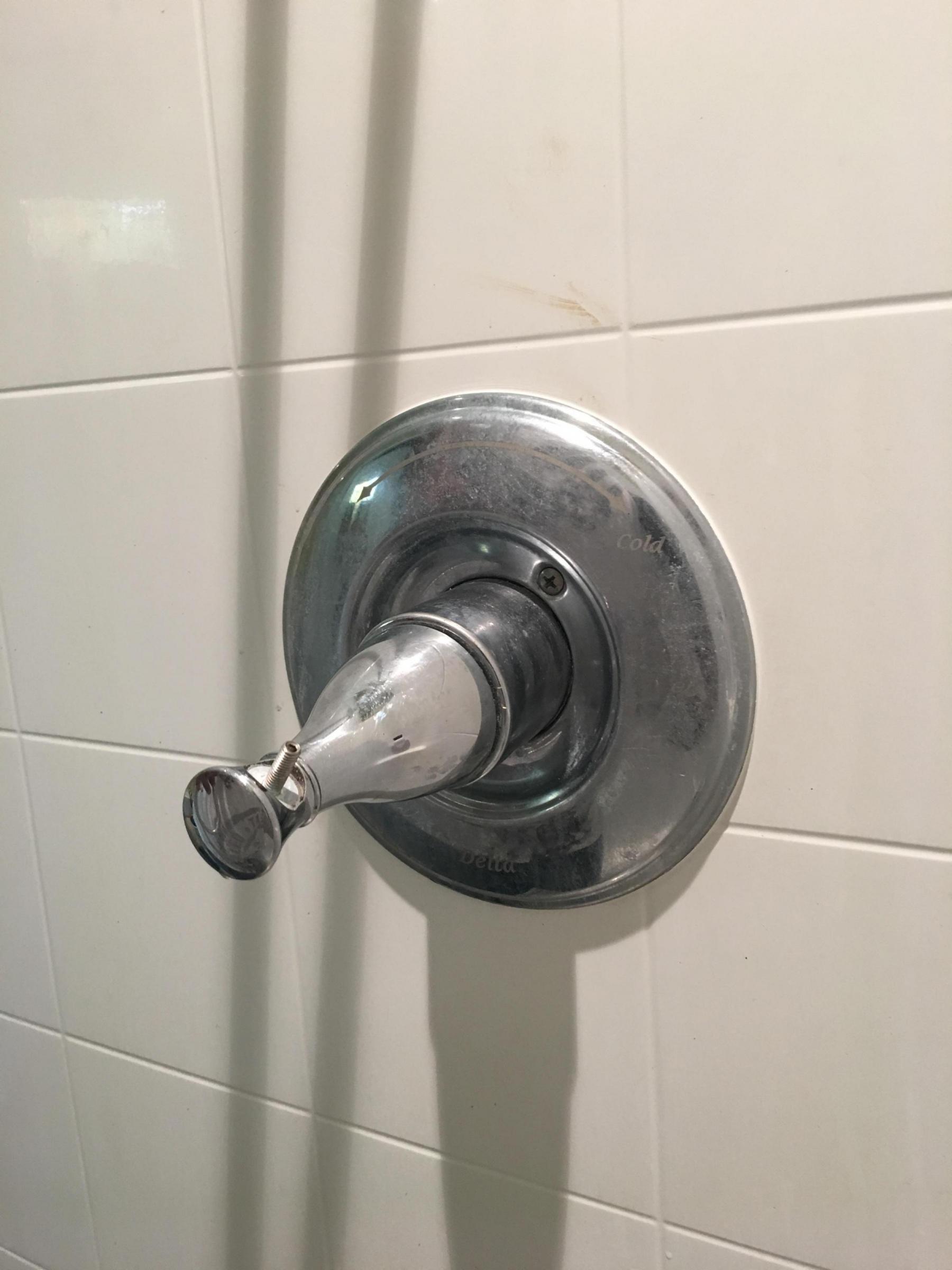 Delta Single Lever Shower Faucet Plumbing Diy Home
