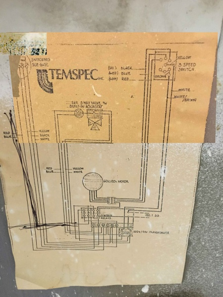 Electric Fan Coil Wiring Diagram