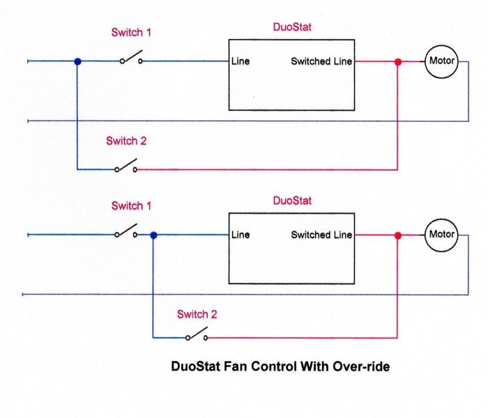 Attic Fan Bypass  U0026 Kill Switch - Electrical
