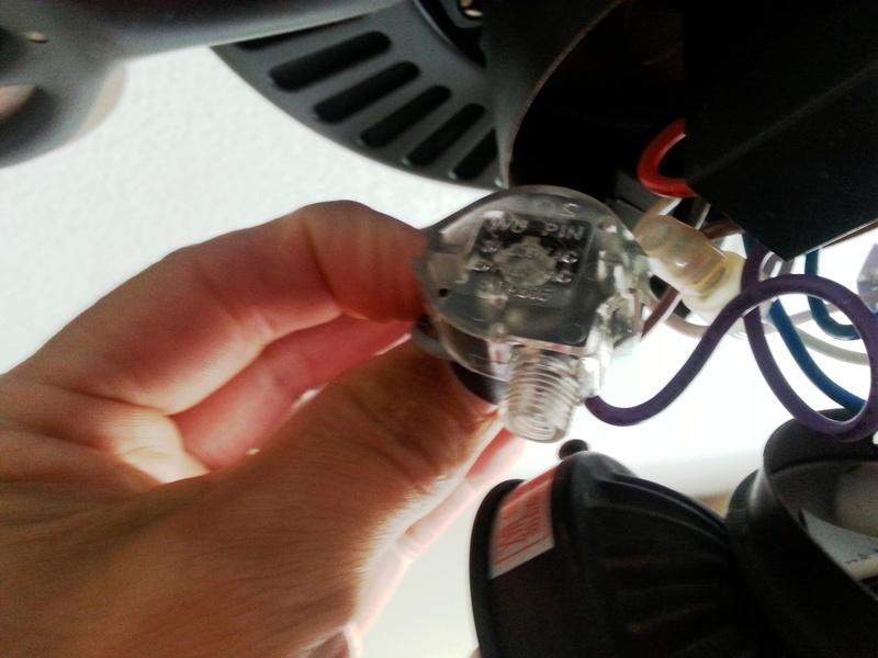 Ceiling Fan Pull Chain Broke How Do I Fix It