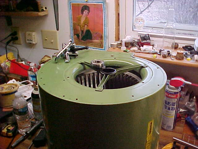 Furnace Blower Bearings : Ol furnace blower fan bearing replacement hvac diy