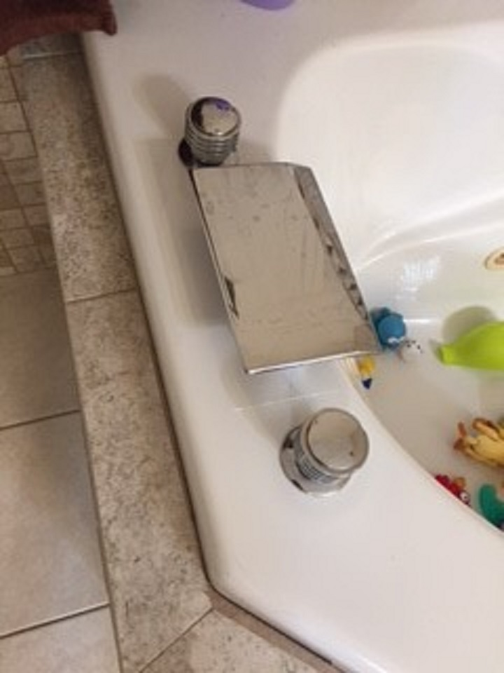 Leaking Waterfall Faucet On Jacuzzi Tub From 1996 - Plumbing - DIY ...