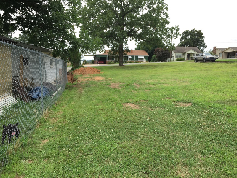 Sump Pump/ French Drain Advice Fence Line ...