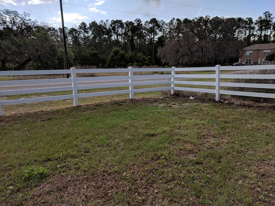 Removable Vinyl Fence Post - Landscaping & Lawn Care - DIY ...