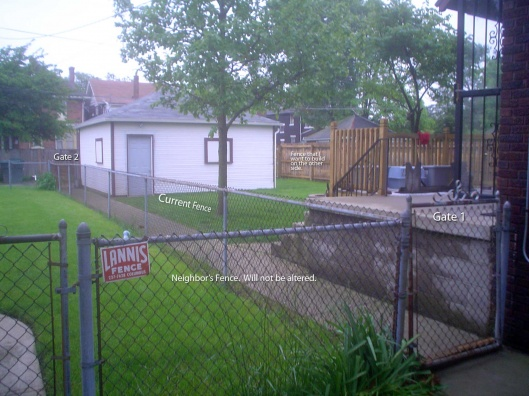 Privacy Fence 4x4 Post against Garage?-fence_1.jpg