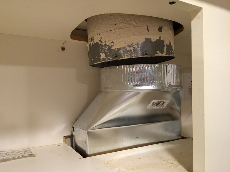 Ducting Above Microwave Vent Not Aligned File 000 2 Jpg