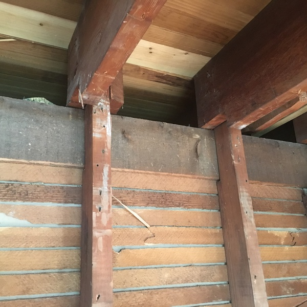 Over notched joist building construction diy for Notching a floor joist