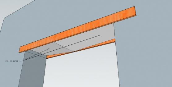 Door Casing, top edge of door way not level-fill-header.jpg