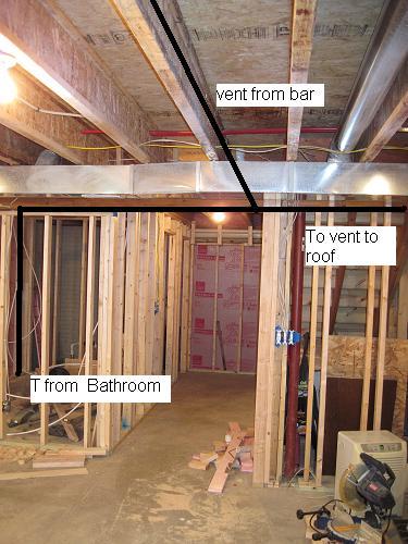 Help With Basement Bathroom Vent Plumbing Diy Home