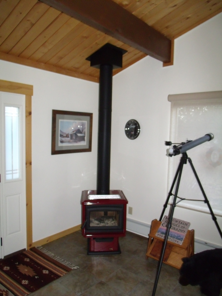 Framing Help Ceiling Joist Removal For Wood Burning Stove
