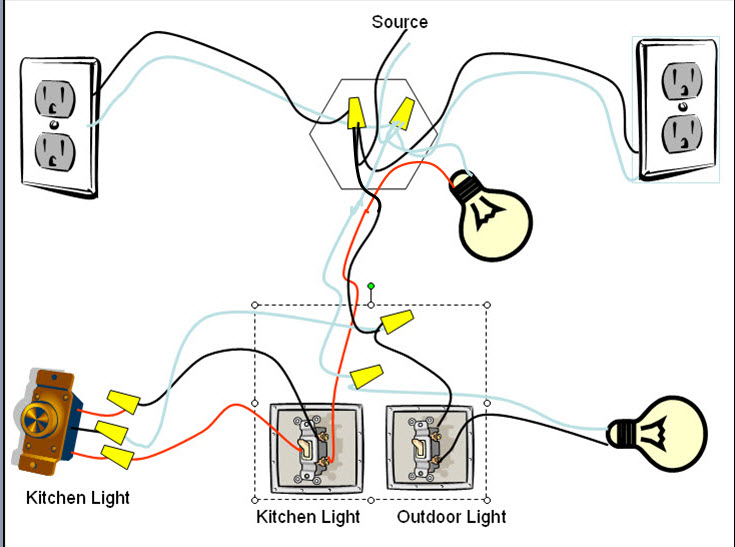 Diagram Help Needed To Finish Of A 3 Way Light Switch