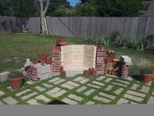6 weeks to an outdoor fireplace, here we go...-fire-box-topped.jpg