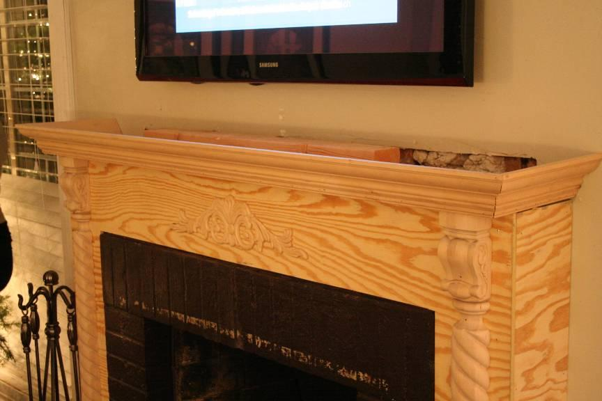 Old Brick Fireplace Revamp - Project Showcase - DIY Chatroom Home ...