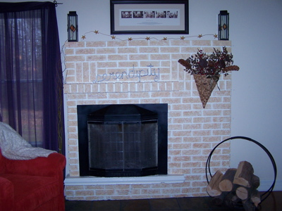 refacing a huge brick fireplace interior decorating diy chatroom home improvement forum