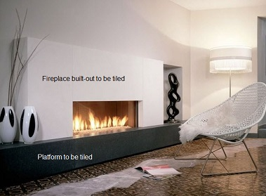 Electric Fireplace Framing Drywall Cement Board