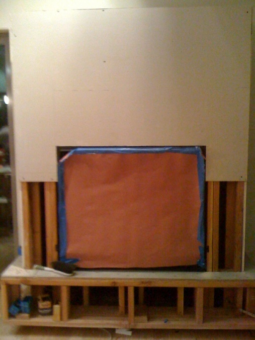 Added new Fireplace Surround need drywall tips-fireplace.jpg