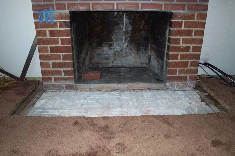 Base For Granite Hearth Building Amp Construction Diy