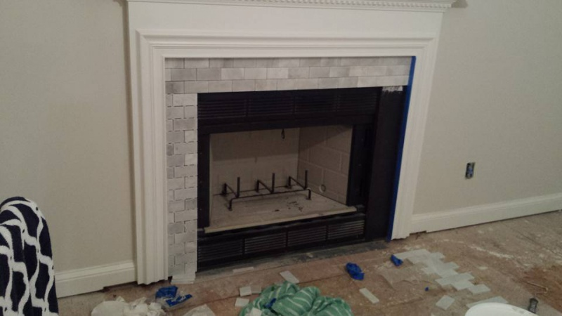 Getting Hearth Tiles Flush With Flooring Tiling Ceramics