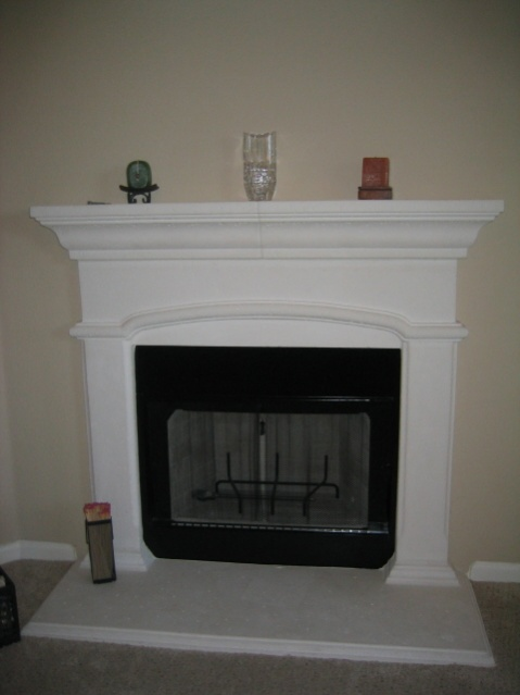 Painting cultured limestone-fireplace.jpg