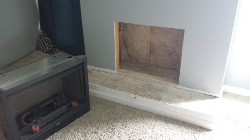how to properly frame out for a gas fireplace insert building rh diychatroom com DIY Build a Fireplace DIY Build a Fireplace
