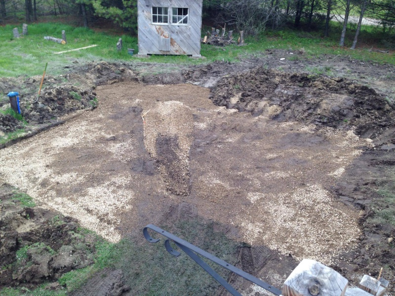 Landscape/Hardscape Project for WET Backyard-first-gravel.jpg