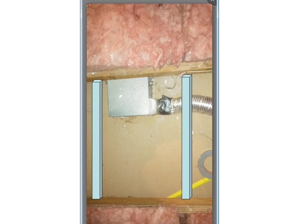 Suggestion For Sagging Drywall In Bathroom Fix Joist Recommendation Jpg