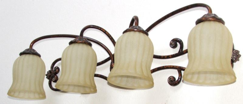 Replacing Bathroom Wall Mounted Light Fixtures - Electrical - DIY ...
