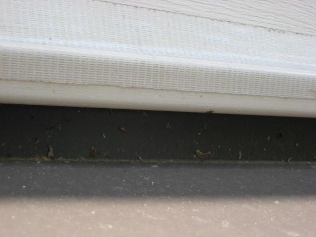 Vinyl siding above pitched porch roof - how to secure the bottom of the siding?-flashing-after-001.jpg