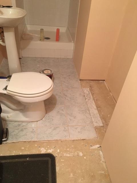 Help With Bathroom Floor Tile / Retile Plan Floor
